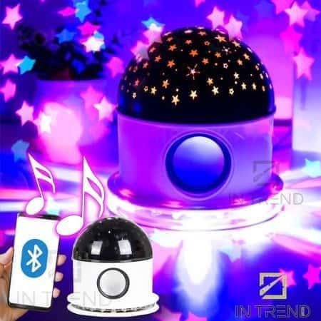 Светодиодный диско-шар (дискошар) Led crystal magic ball light c Bluetooth подключением и музыкой - яркий и легкий магический волшебний шар