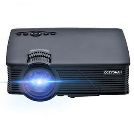 Портативный проектор Projector LED COZY-SWAN С91-01 с динамиком