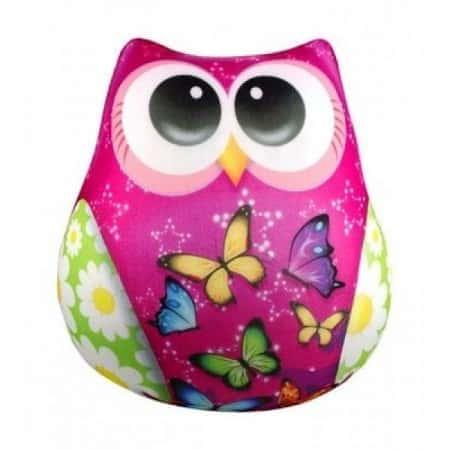 Антистрессовая игрушка Danko Toys Сова в бабочках