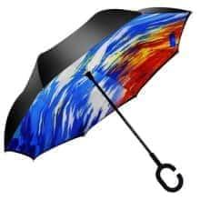 Зонт обратного сложения Vip-brella Закат