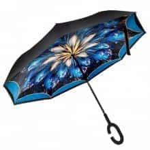 Зонт обратного сложения Vip-brella Абстракция