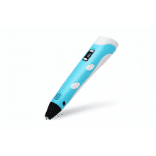 3D-ручка c LCD дисплеем MyRiwell Голубая