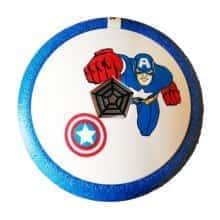 Аэромяч HOVER BALL Капитан Америка Blue