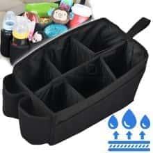 Дорожный детский контейнер в машину для автокресла Bugs – легкий и компактный с удобной ручкой - Черный