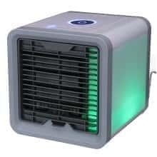 Мобильный мини-кондиционер Air Cooler USB переносной компактный портативный охладитель очиститель увлажнитель воздуха с LED подсветкой 4 в 1