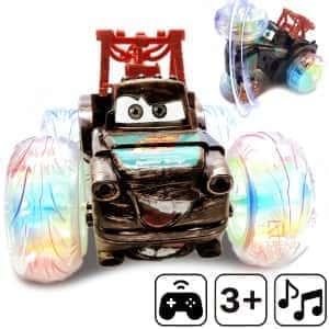 Игрушечная машинка перевёртыш на радиоуправлении Stunt Cars 360 ° для дрифта - полноприводная машина на пульте для детей - Вездеход на дистанционном управлении c аккумулятором, Мэтр