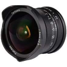 Объектив с широким углом обзора 180 ° 7Artisans 7.5mmf/2.8 Fisheye Fujifilm X (886606)