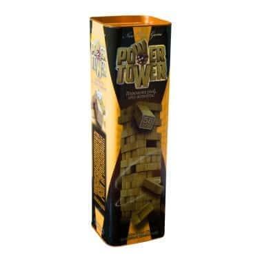 Настольная игра Дженга, деревянная башня - Power Tower - InTrend Toys (45020)