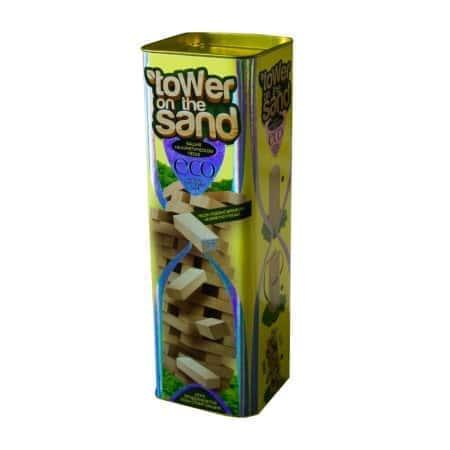 Настольная игра Дженга, деревянная башня - Tower on the sand - InTrend Toys (45022)