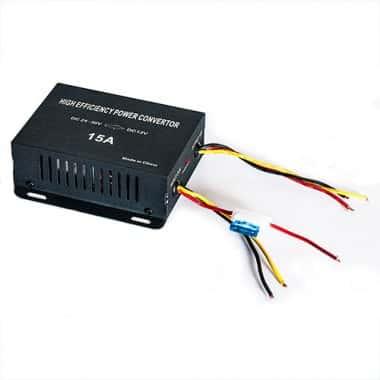 Автомобильный инвертор InTrend CVT-1208 вход DC18-35V выход DC12V±0.5V (841655)