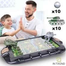 Игра настольная Танковые баталии для двоих Tank Battles настольные - Детские крутые игры стрелялки для детей и подростков