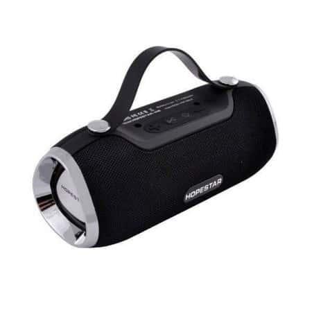 Портативная акустическая стерео Bluetooth колонка Hopestar H40 Pro Черная