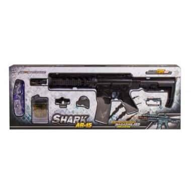 Автомат AR-15 SHARK GTM InTrend  Toys с гелевыми пулями