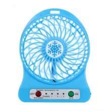 Портативный настольный Мини-вентилятор Portable Fan Mini Синий