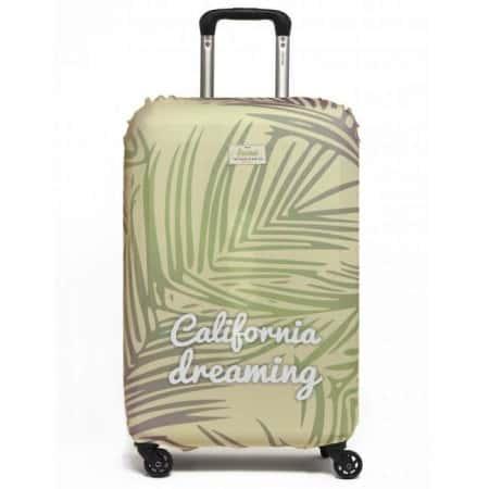 Влагозащитный чехол для чемодана Rocket Design Original California Dreaming , Зеленый