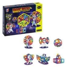 Интерактивный развивающий детский магнитный конструктор Magnaticsheet, 46 деталей (118215)