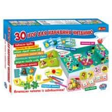 Игровой набор - 30 игр для обучения чтению - InTrend Toys (106579)