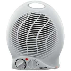 Тепловентилятор дуйчик WimpeX WX 425 (2000 Вт)  Компактный обогреватель дуйка Белый
