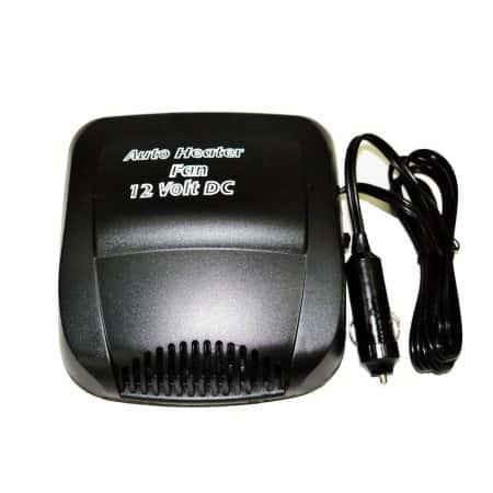 Автомобильный обогреватель салона от прикуривателя Auto Heater H1 12V дуйка,печка 150W, Черный