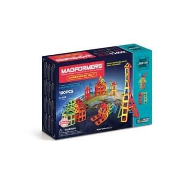Магнитный конструктор Magformers Master Magnetic Construction Building Известные строения мира 100 деталей