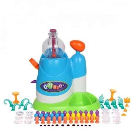 Развивающая интерактивная игрушка конструктор Onoise Inflator Starter Pack Multicolor - набор липких воздушных шариков для творчества