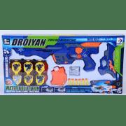 Детский автомат бластер Droiyan Water Bullet gun со звуковими эффектами, мягкими патронами и гидрогелевыми шариками
