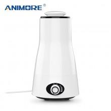 Ультразвуковой увлажнитель воздуха Animore HU-07 с подсветкой, автоотключением, ароматизацией и возможностью регулировки объема тумана для комнати до 40 м², Белый