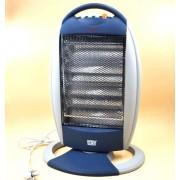 Инфракрасный кварцевый электрический обогреватель Opera OP-H5 1200W, Синий/Серый