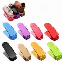 Набор подставок для обуви, двойных стоек Shoe Slotz с регулировкой высоты 10 шт Разноцветный