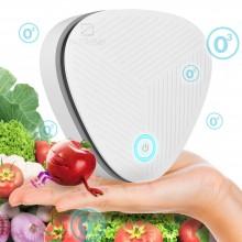 Персональный Очиститель воздуха озонатор ионизатор ОзON TURBO USB - портативный Озоновый стерилизатор от бактерий неприятного запаха White