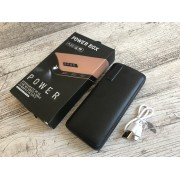 Power Bank универсальная батарея BDI C48 50000mAh +LED фонарик, 3 USB Черный