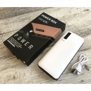 Power Bank универсальная батарея BDI C48 50000mAh +LED фонарик, 3 USB Белый