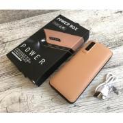 Power Bank универсальная батарея Power Box C48 50000mAh +LED фонарик, 3 USB Бежевый