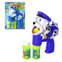 Музыкальный пистолет, пускающий пузыри Собачка InTrend Toys Синий