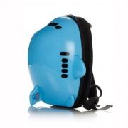 Детский прогулочный и школьный рюкзак-самолетик, ранец RIDAZ Аirplane Backpack Голубой