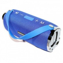 Портативная акустическая стерео Bluetooth колонка Hopestar H24 Синяя