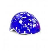 Шлем защитный детский InTrend Toys для катания на велосипеде, скейте, роликах Синий со звездами (104556)