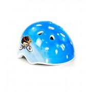Шлем защитный детский InTrend Toys для катания на велосипеде, скейте, роликах Голубой (104557)