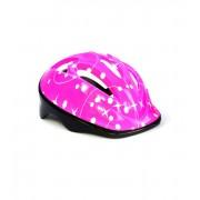Шлем защитный детский InTrend Toys для катания на велосипеде, скейте, роликах Розовый (104572)