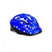 Шлем защитный детский InTrend Toys для катания на велосипеде, скейте, роликах Синий  (104573)