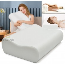 Ортопедическая подушка с эффектом памяти для здорового и комфортного сна Memory Pillow антиаллергенная анатомическая  подушка с памятью