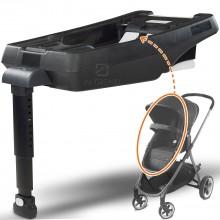 База под автокресло SecureMax в машину легко устанавливается в систему Isofix – Крепление с помощью штатных ремней - Черный