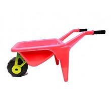 Тележка тачка для песка большая InTrend Toys Красная (104313)