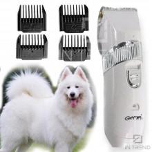 Электрическая  машинка для  самостоятельной стрижки животных Gemei GM 634 с керамическими ножами и 4 сменными насадками