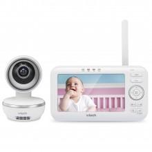 """Видеоняня Vtech VM5261 с дистанционным поворотом камеры, колыбельными и цветным экраном диагональю 5"""""""