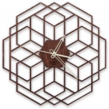 Настенные часы WawDeco HexaFlower