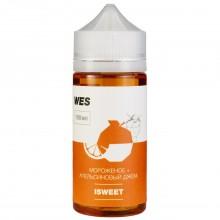 Премиум жидкость для электронных сигарет WES Isweet 100 мл 3 мг (мороженое с апельсиновым джемом)