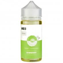Премиум жидкость для электронных сигарет WES Kiwerry 100 мл 3 мг (киви и клубника)