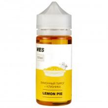 Премиум жидкость для электронных сигарет WES Lemon Pie 100 мл 3 мг (лимонный пирог и клубника)